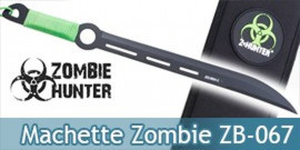 Machette Zombie Hunter Sabre Epee Courte ZB-067