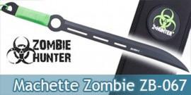 Machette Zombie Hunter Sabre Epee Courte ZB-067