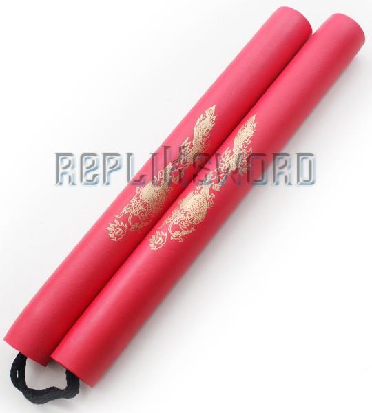 Nunchaku Dragon Mousse Rouge Entrainement 801-R