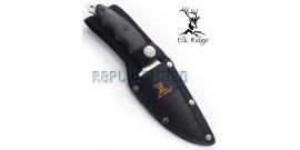 Couteau de Chasse Rustique Silver ER-542SL