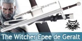 The Witcher Epee Geralt de Riv Replique Wolf Sabre