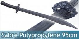 Sabre Polypropylene Epee Noire Entrainement E474-PP