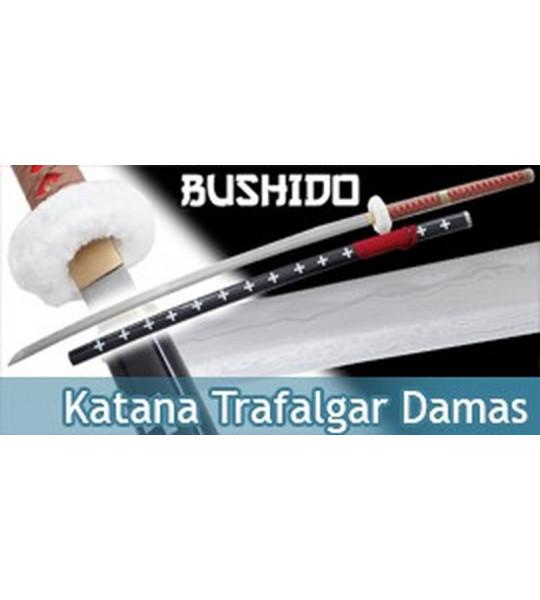 One Piece Katana Pratical Trafalgar Epee Lame Damas