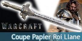 Coupe Papier Epee Llane Ouvre Lettre Warcraft