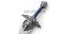 Epee Acier Warcraft Garde Chevalier Replique