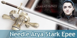 Game of Thrones Needle Arya Stark Epee Aiguille