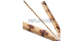 Baton Entrainement 127cm Bois Rotin JO 1901-4TC