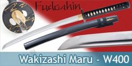 Wakizashi Pratical Fudoshin Epee W400 avec Kozuga