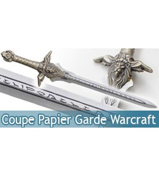 Coupe Papier Garde Warcraft Chevalier Ouvre Lettre 6F-444