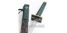 Katana Green Dragon Decoration Sabre Epee