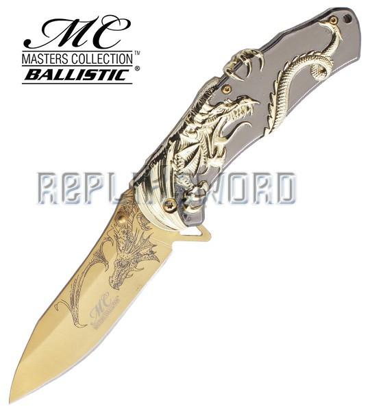Couteau Gold Dragon Coffret Cadeau Couteau Pliant
