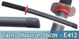 Bokken Tanto en Mousse 56cm Couteau Entrainement E412