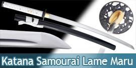 Katana Samourai Lame Maru Sabre Epee K120