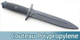 Couteau ABS Poignard Polypropylene Entrainement E420-PP