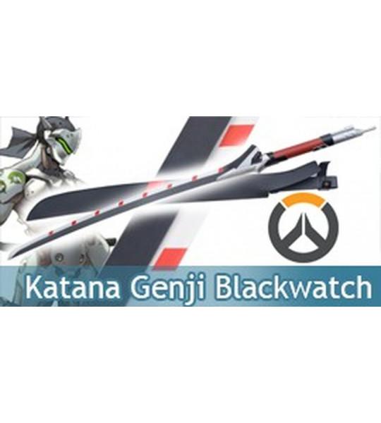 Overwatch Katana Dragon Epee Ninja Sabre Blackwatch
