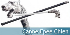 Canne Epee Dog Chien Canne de Marche
