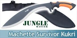 Machette Survivor Kukri Epee Sabre SV-MHT001-4