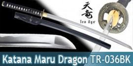 Katana Ten Ryu Dragon Lame Maru TR-036BK