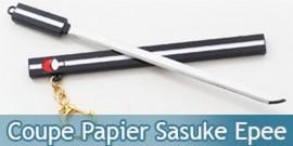 Coupe Papier Sasuke Epee Noir Naruto 17cm Ouvre Lettre