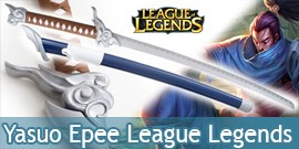 Katana League of Legends Epee Réplique Sabre Yasuo
