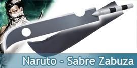 Naruto Epee de Zabusa Ninja Sabre Replique Acier