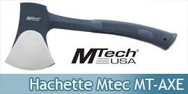 Hachette Mtec USA Petite Hache de Coupe