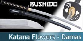 Bushido - Katana Forgé Sun - Lame Damas