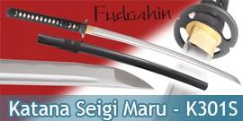 Fudoshin - Katana Forgé Seigi Maru - K301S