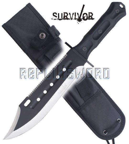 Couteau de Chasse Survivor SV-FIX002BK Survie