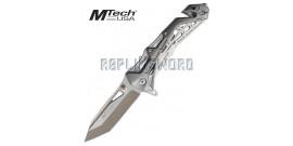 Couteau Pliant Silver Edition Mtech USA MT-A997BGY