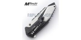 Couteau Pliant Lame Grise Couteau de Poche MT-A1011GY