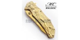 Couteau de Poche Gold Ninja MC-A035GD