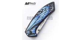 Couteau Pliant Blue Wing Mtech USA MT-A1005BL