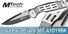Couteau Pliant Black Edition Mtech USA MT-A1019BK