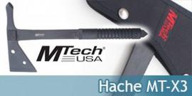 Hachette de Coupe Hache Mtech USA MT-X3