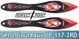 Set 2 Couteaux de Lancer Death Red Edition PP-117-2RD