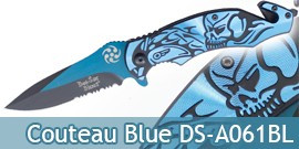 Couteau Pliant Blue Death DS-A061BL