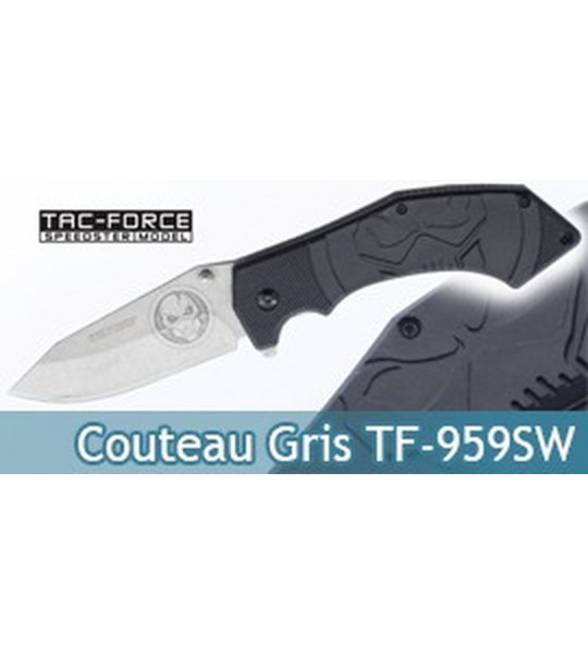 Couteau Pliant Grey Edition Tac Force TF-959SW