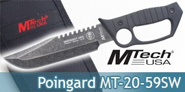 Poignard Americain Couteau Mtech USA MT-20-59SW