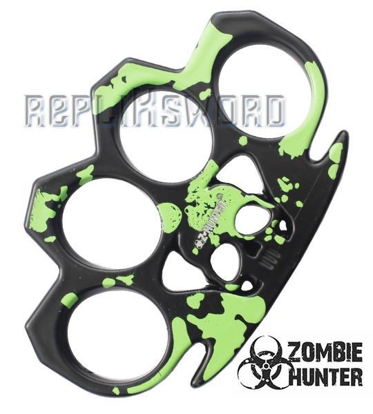 Poing Americain Acier Death Green ZB-017G