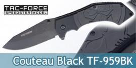 Couteau Pliant Black Edition Tac Force TF-959BK