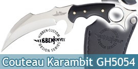 Poignard Gil Hibben Karambit Couteau Lame Fixe GH5054