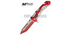 Couteau Pliant Red Edition Mtech USA MT-A997BRD