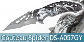 Couteau Pliant Death Spider Grey DS-A057GY