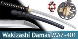 Wakizashi Pratical Masahiro Sabre Epee Damas MAZ-401M
