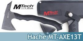 Hache Hachette Tactique Silver MT-AXE13T