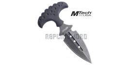 Couteau Push Dagger Tactique Black MT-20-41BK