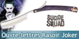 Ouvre Lettres Joker Rasoir Suicide Squad Decoration