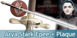 Game of Thrones Needle Arya Stark Epee Aiguille Replique