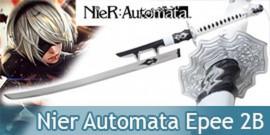Nier Automata Epee 2B Replique Acier Yorha Black Edition